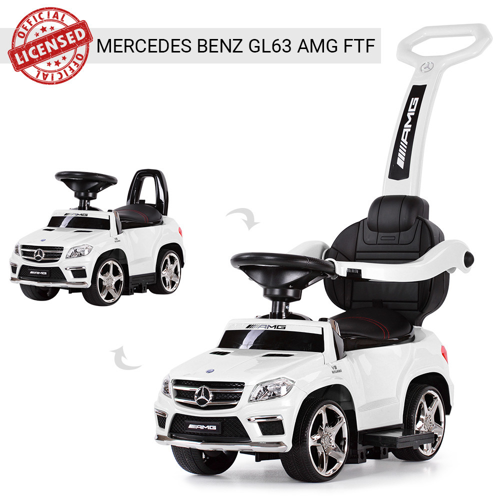 Детская каталка-толокар Мерседес Mercedes AMG, SX1578, свет, звук MP3