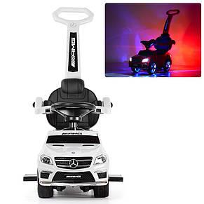 Детская каталка-толокар Мерседес Mercedes AMG, SX1578, свет, звук MP3, фото 2