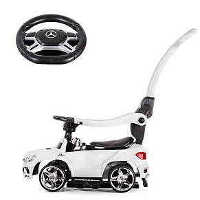 Детская каталка-толокар Мерседес Mercedes AMG, SX1578, свет, звук MP3, фото 3