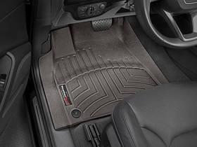 Ковры резиновые WeatherTech Bentley Bentayga 2016+ передние какао
