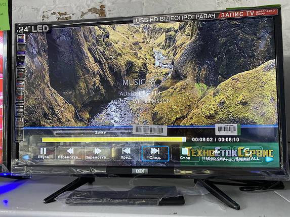 Телевизор DEX 2455T2 (HD 1366x768 / 60ГЦ / DVB-T2 / C2), фото 2