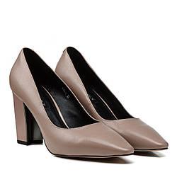 Туфли женские DOVETOLY (кожаные, на каблуке, на высоком каблуке)