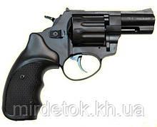 Револьвер под патрон Флобера Stalker 2.5 wood силумин BLACK