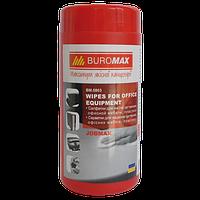 Салфетки для очистки оргтехники пластика офисной мебели Buromax (BM.0803)