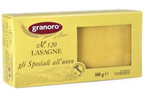 Листы для лазаньи Granoro яичные №120 500 g, фото 2
