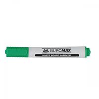 Маркер для сухостираемых досок Buromax 2-3 мм зеленый (BM.8800-04)
