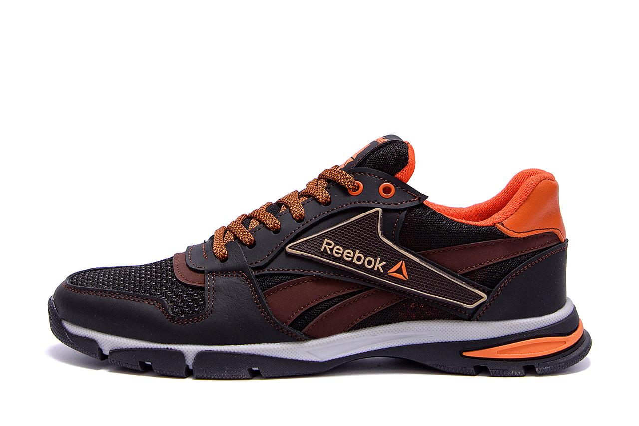 Чоловічі кросівки літні сітка Reebok Street Style Brown .