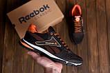 Чоловічі кросівки літні сітка Reebok Street Style Brown ., фото 9