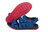 Чоловічі шкіряні сандалі Nike Summer life blue ., фото 5