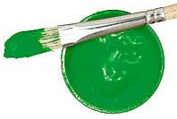 Заготовка для Бизиборда Краска ЗЕЛЕНАЯ Акриловая Эмаль - 2 мл Акрил Зелёный для Покраски Деревянных Деталей