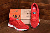 Мужские летние кроссовки сетка BS Red Line Clasic, фото 10
