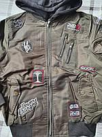 Демисезонные куртки для мальчиков Nature 10/11-16/17лет, фото 1