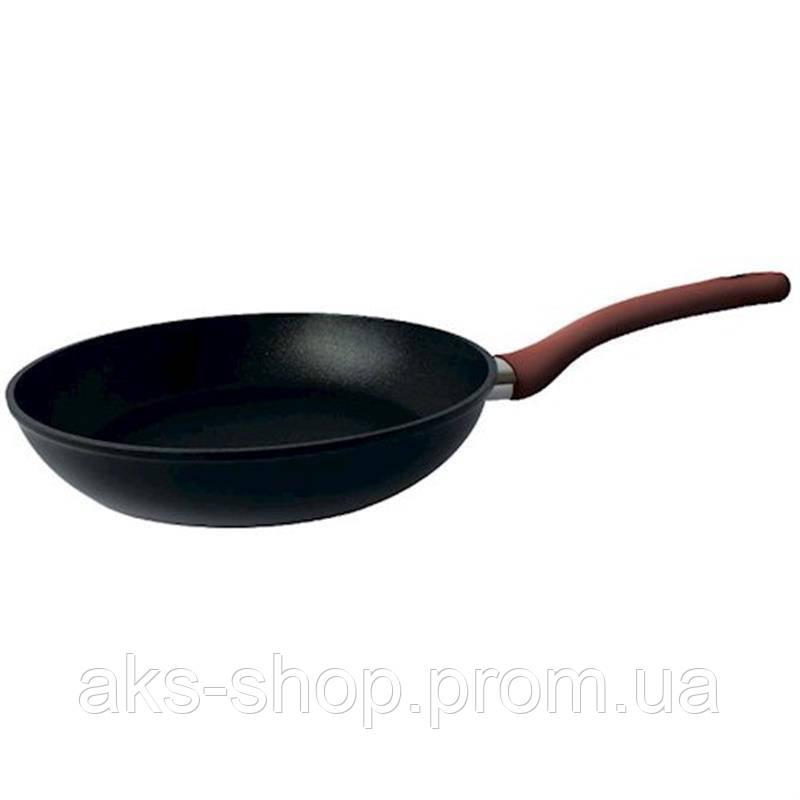 Сковорода с антипригарным покрытием 24 см GUSTO GT-2102-24  |сковородка Gusto, сотейник Густо
