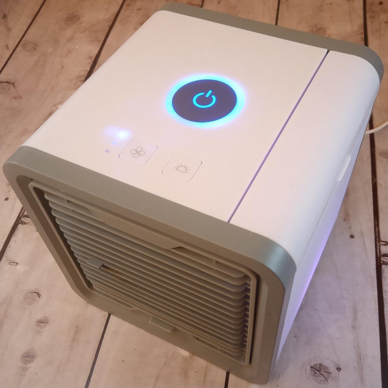 [ОРИГИНАЛ] Портативный кондиционер Artic Air USB влажный охладитель (подсветка)