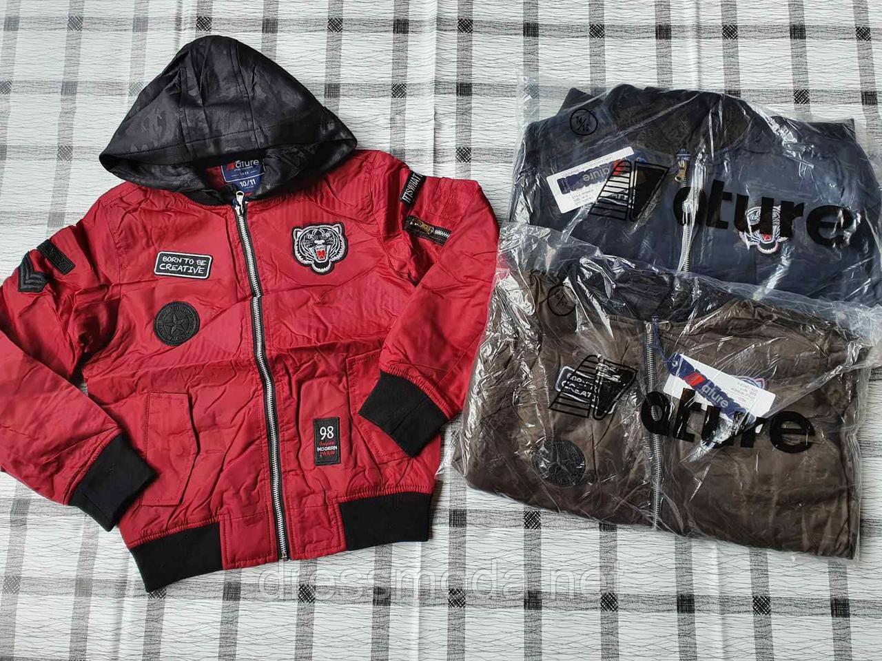 Демисезонные куртки для мальчиков Nature 10/11-16/17лет
