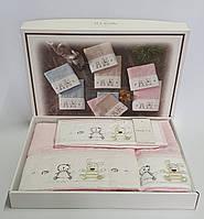 Полотенца детские Maison D'or 3шт Lamite Pink