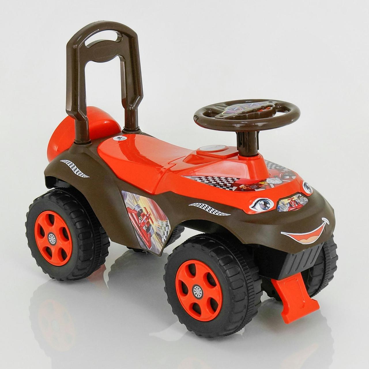 Толокар каталка Червоний - Машинка толокар для дитини