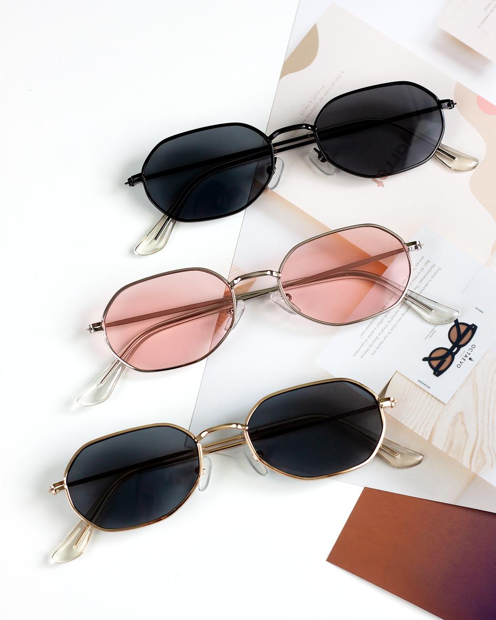 Очки солнцезащитные в стиле Ray-ban Hexagonal унисекс мужские женские квадратные