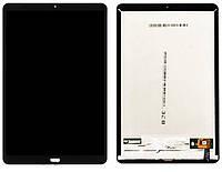 LCD Дисплей Модуль Экран для Xiaomi Mi Pad 4 Plus + touchscreen, черный, со шлейфом сканера отпечатка пальца