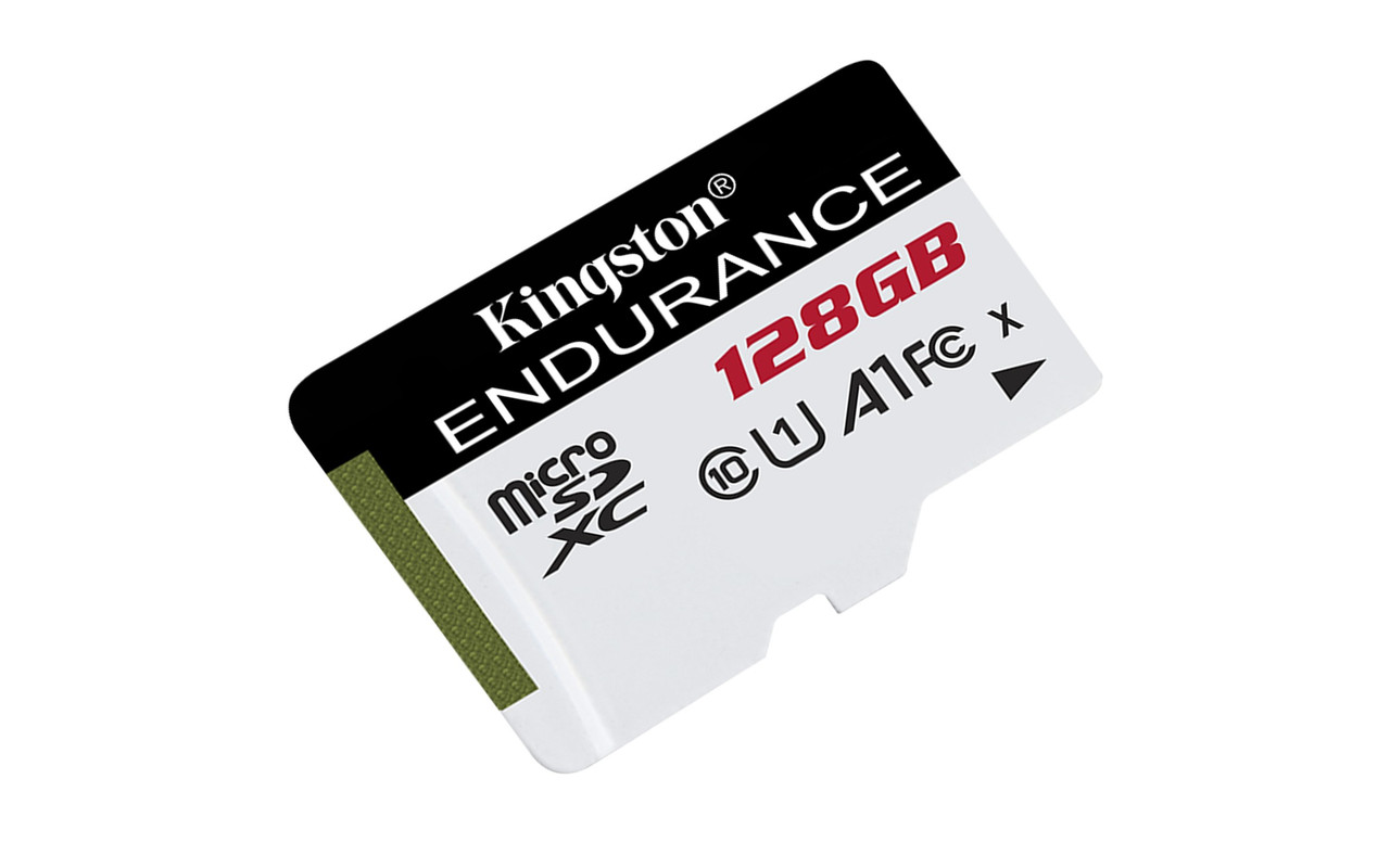 Карта памяти MicroSDXC 128GB UHS-I Class 10 Kingston High Endurance (SDCE/128GB)