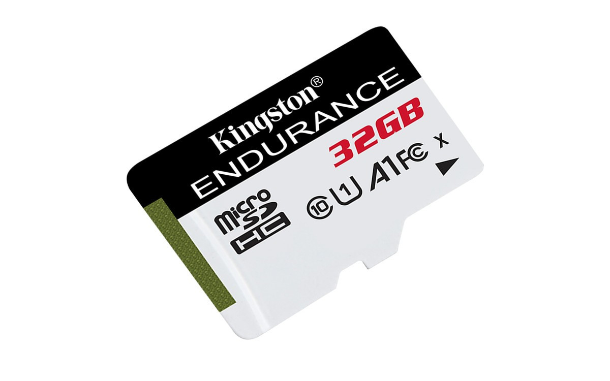 Карта памяти MicroSDHC 32GB UHS-I Class 10 Kingston High Endurance (SDCE/32GB)