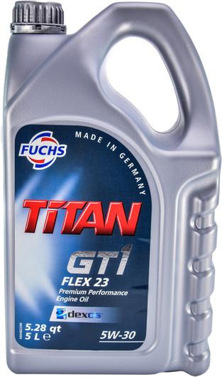 Моторное масло Fuchs Oil Titan GT1 FLEX 23 5W-30 5л (600756611)