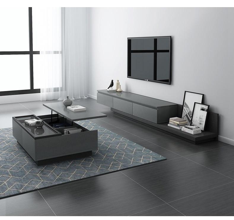 Выдвижной комплект мебели для гостинной. Модель RD-822
