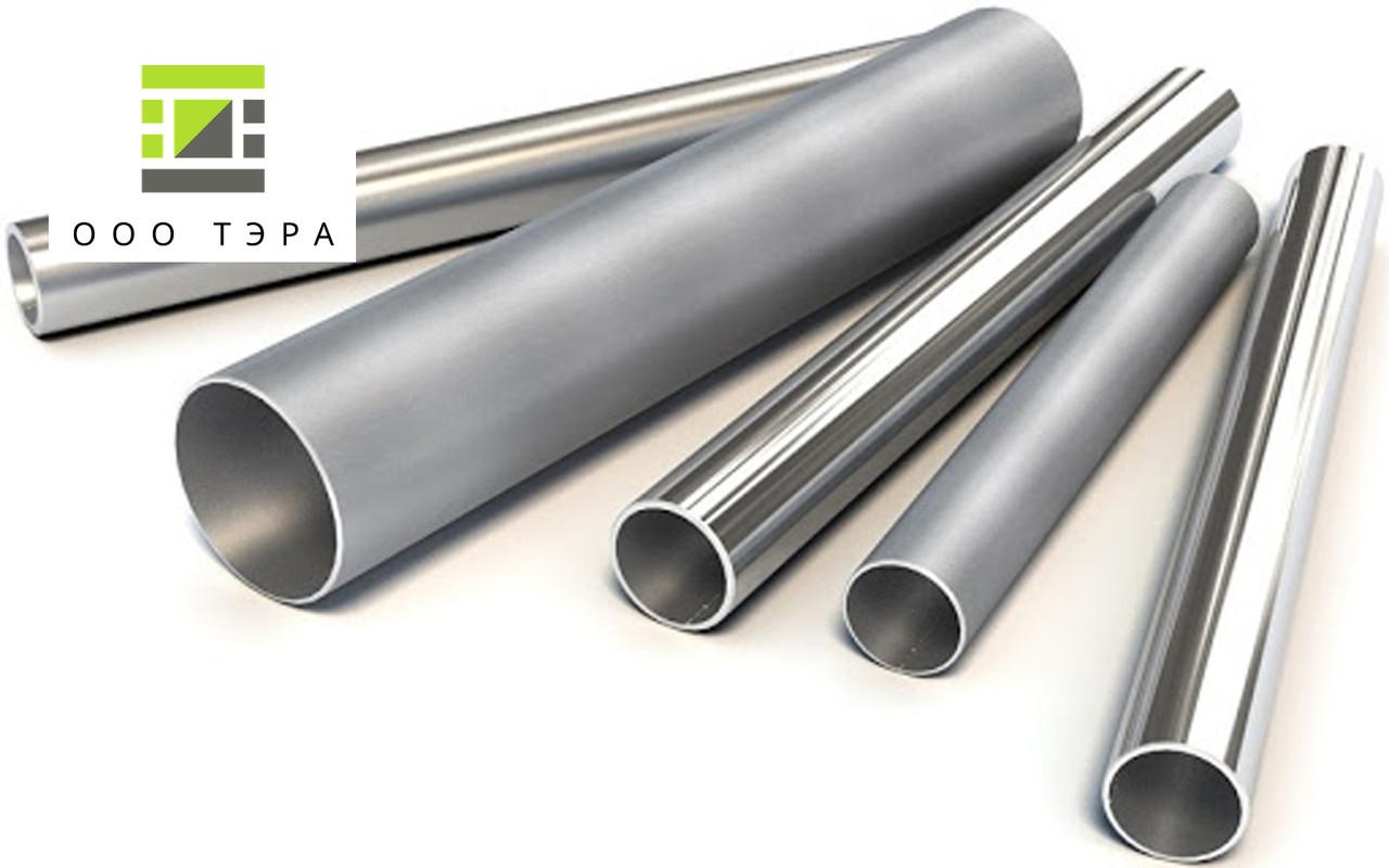 Труба aisi 304 40 х 2 мм нержавеющая круглая, кислотостойкая сталь 08Х18Н10 зеркальная, матовая