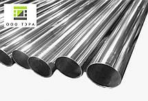 Труба aisi 304 40 х 2 мм нержавеющая круглая, кислотостойкая сталь 08Х18Н10 зеркальная, матовая, фото 2