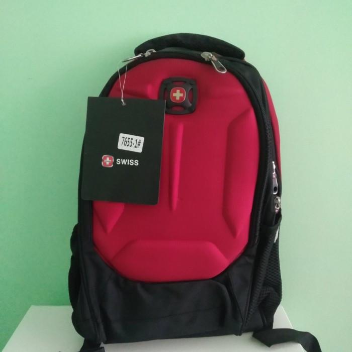 Рюкзак Wenger SwissGear 7655 Размер: 47х33х27  35 литров Чёрный с красным