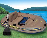 Надувная лодка Excursion 2 Set Intex 68318 (239х145х37 см. ), фото 1