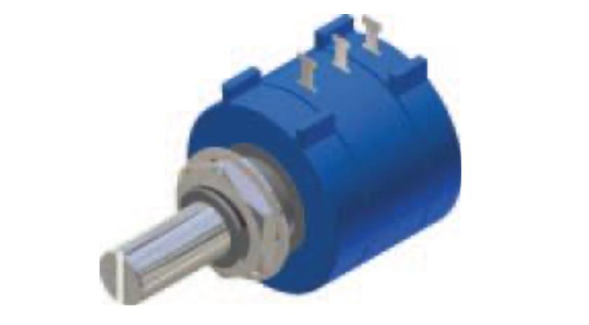 Потенциометр R10K/S10/WIRED c монтажным комплектом