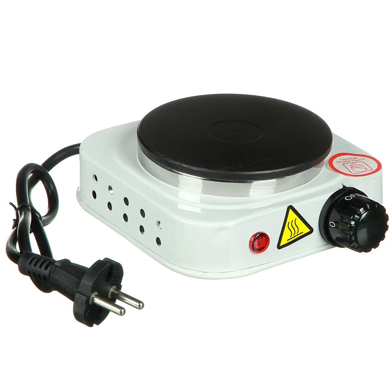 Плита кухонна настільна електрична дискова Hot Plate 500 Вт