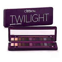 Палитра теней BEAUTY CREATIONS Twilight Eyeshadow Collection 12 в 1, фото 1