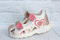Легкие кожаные босоножки для девочки тм Tom.m, р. 25,26,27,28, фото 1