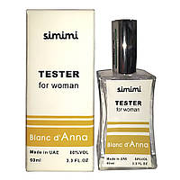 Тестер Simimi Blanc d'Anna женский, 60 мл