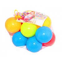 Кульки великі для сухого басейну 10 шт в сітці 9 см, Kinderway (02-426)