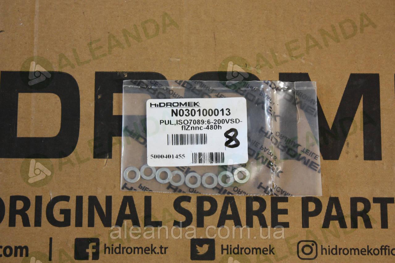 N030100013 шайба кріплення скла Hidromek
