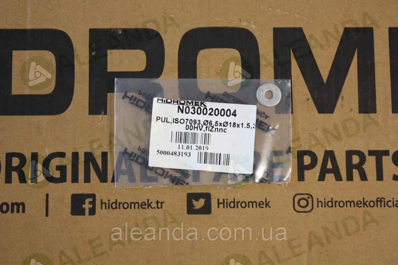 N030020004 гайка для болта дверної ручки Hidromek