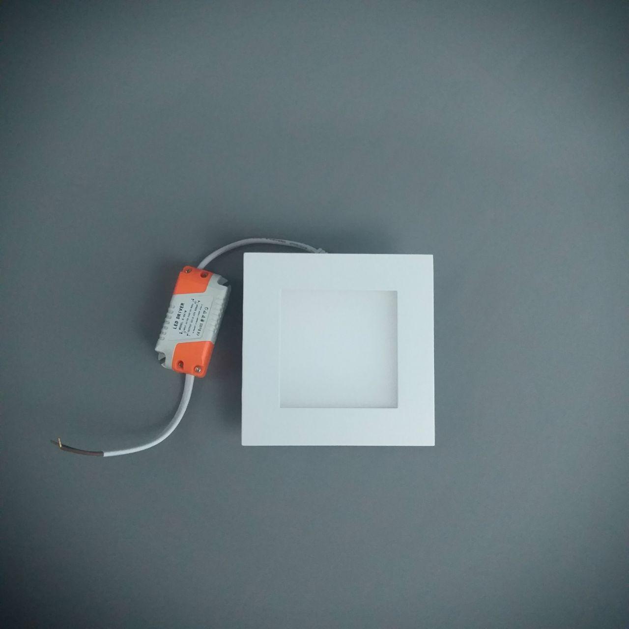 Светодиодная панель S01015.1 WW 120x120 3000K 8W