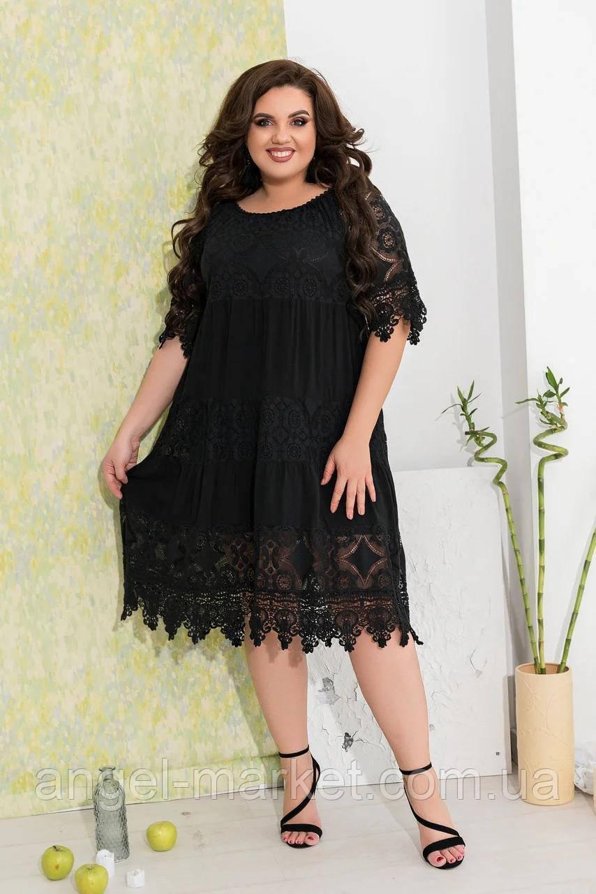 Женское летнее платье р.48-52