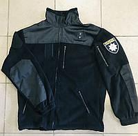 Толстовка-кофта черная Полиция