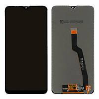 Дисплейный модуль (LCD дисплей + touch screen) для Samsung Galaxy A10 (A105F) / M10 (M105) OEM Black