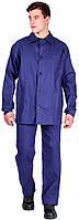 Костюм Рабочий усиленный (тк.Диагональ,195) брюки, т.синий