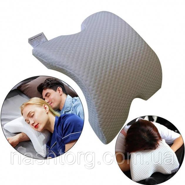 Ортопедическая подушка с эффектом памяти Memory Pillow 30х35см анатомическая мемори с памятью