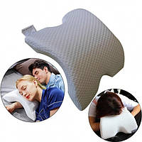 Ортопедическая подушка с эффектом памяти Memory Pillow 30х35см анатомическая мемори с памятью, фото 1