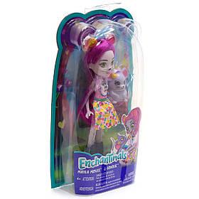 Набор кукла Enchantimals (Энчентималс) Мышка Майла (FXM76)