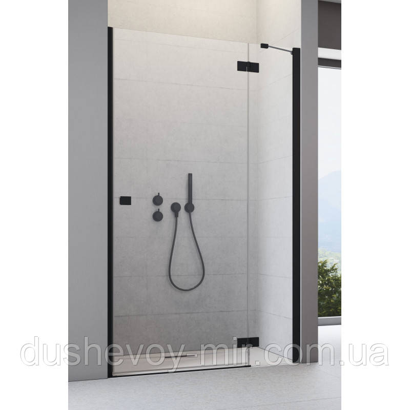 Душевая дверь 80 см Radaway Essenza New Black DWJ 385012-54-01R