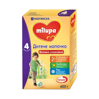 Дитяче молочко Milupa 4, 18+, 600г