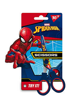 Детские ножницы для творчества YES 13см Marvel Человек паук Синий (480394)